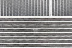 Textura dos radiadores refrigerando do motor novo Foto de Stock