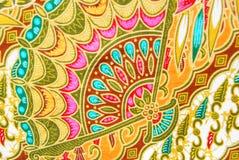 Textura dos sarongues de Malásia fotografia de stock