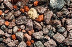 A textura dos seixos Foto de Stock