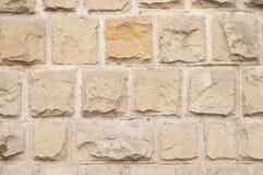 Textura dos tijolos da pedra calcária fotos de stock royalty free