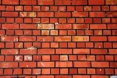 Textura dos tijolos vermelhos Imagem de Stock Royalty Free