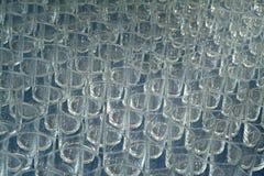 Textura dos vidros Fotos de Stock Royalty Free