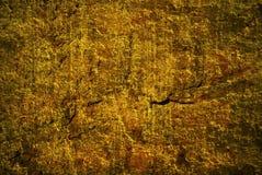 Textura dourada Fotografia de Stock Royalty Free