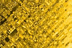 Textura dourada Imagens de Stock Royalty Free