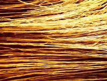 Textura dourada da palha Imagens de Stock