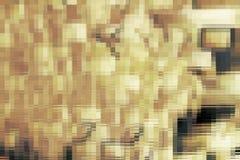 Textura dourada do fractal ilustração do vetor