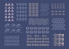Textura drenada mano del vector Foto de archivo libre de regalías