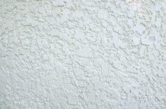 Textura e fundo brancos abstratos do muro de cimento Imagem de Stock