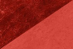 Textura e fundo concretos da parede Coral Color Background fotos de stock royalty free