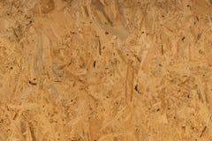 Textura e fundo da placa de OSB Imagem de Stock