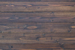 Textura e fundo da prancha do marrom escuro Fotografia de Stock Royalty Free