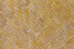 Textura e fundo de bambu do weave Foto de Stock Royalty Free