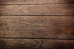 Textura e fundo de madeira velhos do assoalho da prancha Foto de Stock
