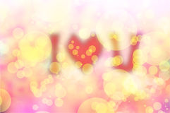 Textura e fundo doces do amor do bokeh do blure do dia de Valentim Imagens de Stock