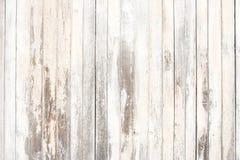A textura e o fundo de madeira velhos no vintage tonificam foto de stock