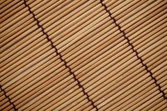 A textura e o teste padrão do fundo japonês da esteira Imagens de Stock