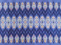 Textura e teste padrão da tela do Asiático-estilo Fotografia de Stock Royalty Free
