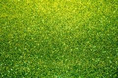 Textura efervescente verde do Natal Imagem de Stock Royalty Free