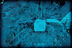 Textura electrónica industrial del fondo de la tecnología fotografía de archivo libre de regalías