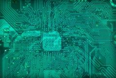 Textura electrónica industrial del fondo de la tecnología Foto de archivo libre de regalías