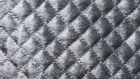 Textura elegante cinzenta da tela fotografia de stock