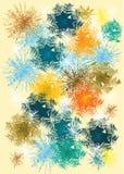 Textura em cores diferentes Foto de Stock