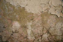 Textura emplastro rachado velho da parede pintada Foto de Stock Royalty Free