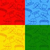 Textura en un fondo coloreado Ilustración del Vector
