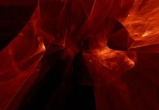 Textura enevoada vermelha ilustração royalty free
