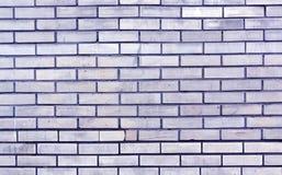 Textura entonada azul de la pared de ladrillo Fotos de archivo