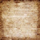 Textura envejecida de la pared de ladrillo Fotos de archivo