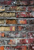 Textura envejecida de la pared de ladrillo Imagen de archivo libre de regalías