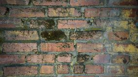 Textura envelhecida da parede de tijolo vermelho Textura envelhecida da parede de tijolo vermelho imagens de stock royalty free