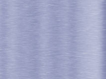 Textura escovada azul do fundo do metal Fotografia de Stock