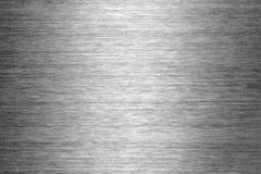 Textura escovada do metal Imagem de Stock Royalty Free