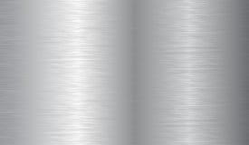 Textura escovada do metal   Imagens de Stock Royalty Free
