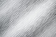 Textura escovada do metal fotografia de stock