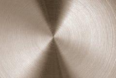 Textura escovada do metal Fotos de Stock