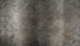 Textura escovada oxidada do metal Fotos de Stock