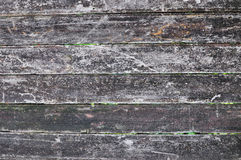 Textura escura de madeira velha do fundo Fotografia de Stock Royalty Free