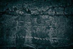 A textura escura do grunge do muro de cimento com cimento endurecido goteja imagem de stock royalty free