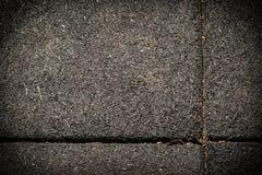 Textura escura feita pelas telhas de borracha fotos de stock