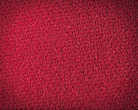 textura Escuro-vermelha de pano do detalhe. Imagens de Stock Royalty Free