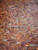 Textura España del piso del guijarro de la piedra de Zamora imágenes de archivo libres de regalías