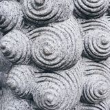 Textura espiral Art Abstract Background del cemento del modelo imágenes de archivo libres de regalías