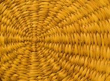 Textura espiral de vime imagens de stock