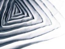 Textura espiral metálica fresca Fotografia de Stock Royalty Free