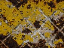 Textura esquadrada da oxidação foto de stock royalty free