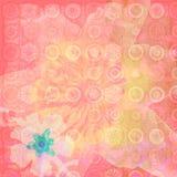 Textura exótica da flor ilustração stock