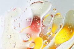Textura extraña del aceite Foto de archivo libre de regalías